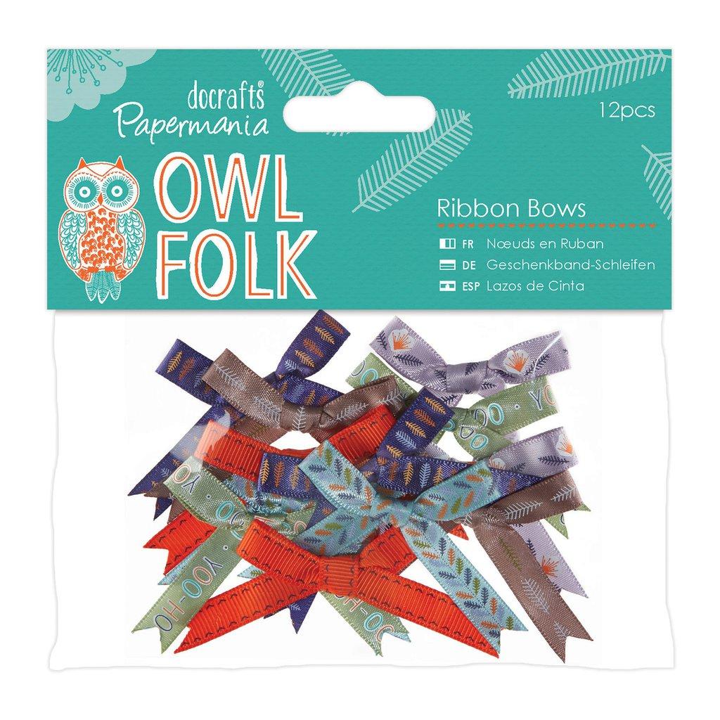 Mix 12 fiocchi - Owl Folk