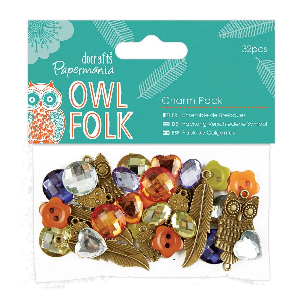 Charm Pack - Owl Folk