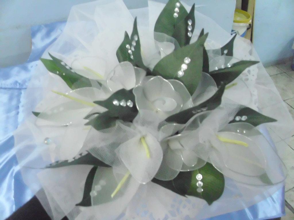 bouquet sposa comunione