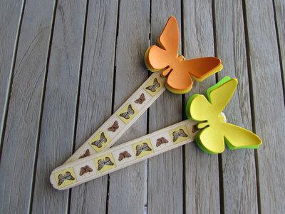 Segnalibro con farfalle