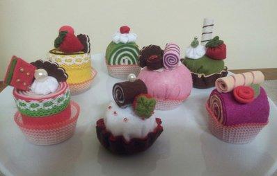 dolcetti di feltro
