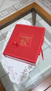Portabomboniere laurea a forma di libro PERSONALIZZATO.