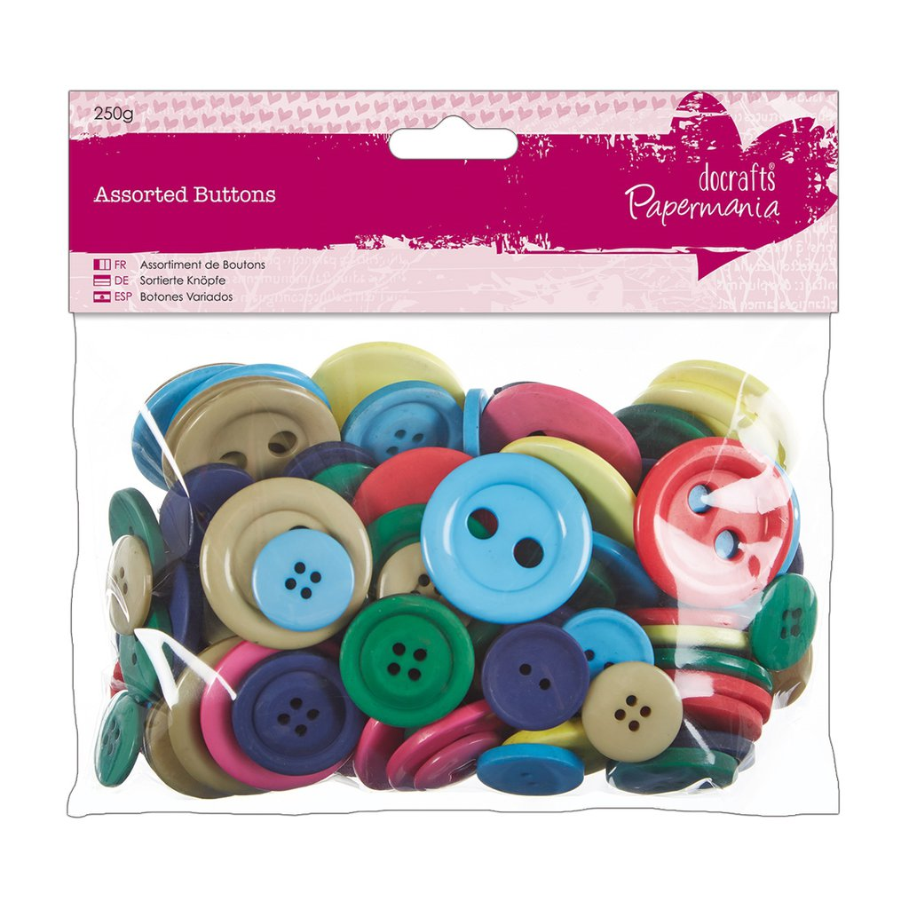 Mix 250 gr bottoni - Brights