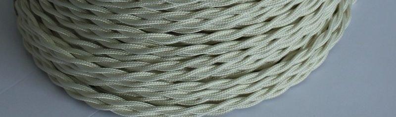 Matassa filo a treccia,  colore oro, 30 metri