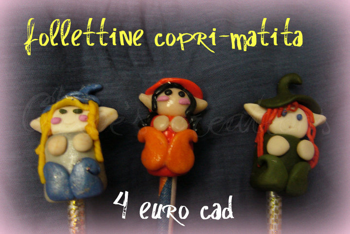 Copri matite folletto