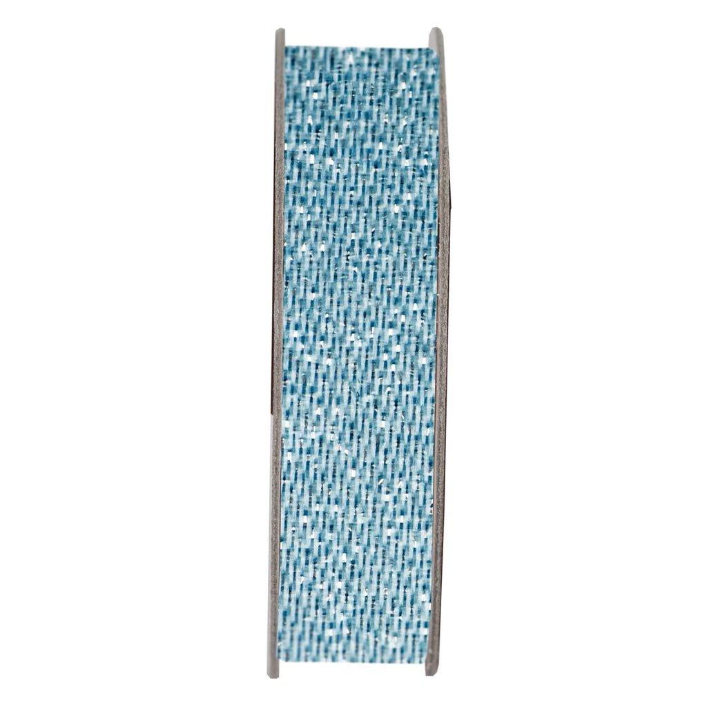 Nastro satinato - Glitter Soothing Blue