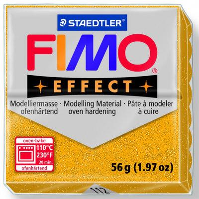 Panetto Fimo Effect 56 gr. - n. 112 Oro Glitter
