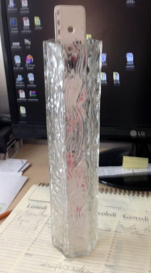 Ricambio Tronchi in vetro soffiato di murano per lampadari  cm 28