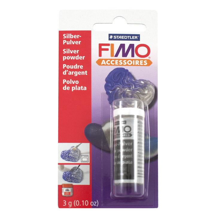 Fimo Metallic polvere argento