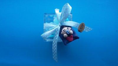 Bomboniera scatola plexiglass nascita battesimo compleanno
