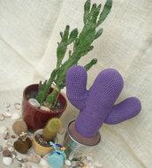 Evaristo, Salvietta, Priscilla, Guendalina, Azul - cactus amigurumi