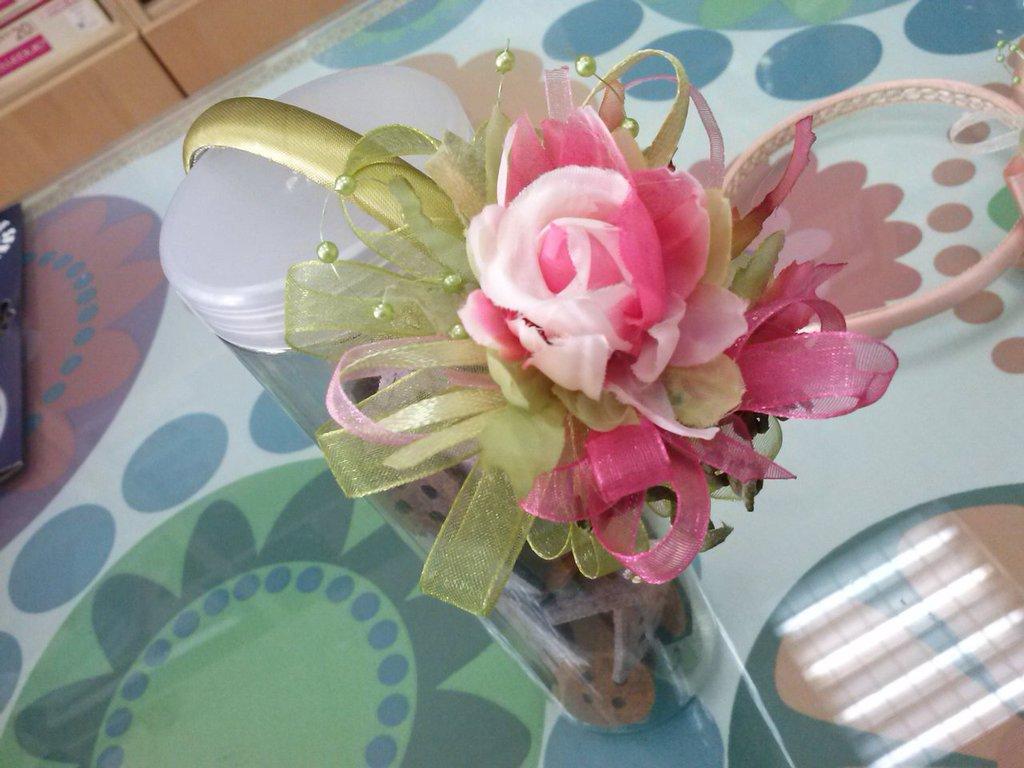 cerchietti comunione con fiori