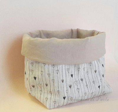 Cestino portatutto in cotone