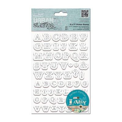 Urban Stamp - Stitched Alphabets