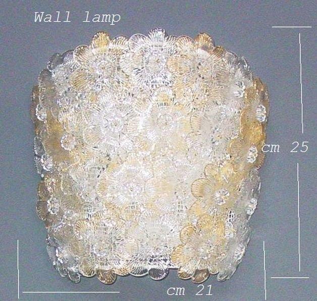 Roxette Applique con rosette cristallo oro
