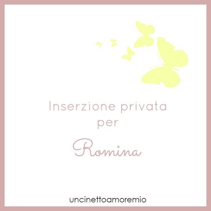 Inserzione privata per Romina
