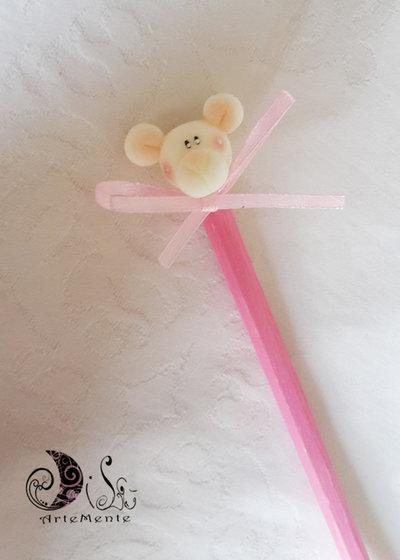 Matita orsetto bomboniera - matite bomboniere battesimo