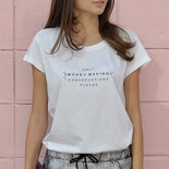 Printed T-shirt Only money making conversations please