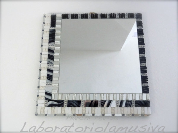 Specchiera Black & White