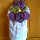 Porta buste violetta
