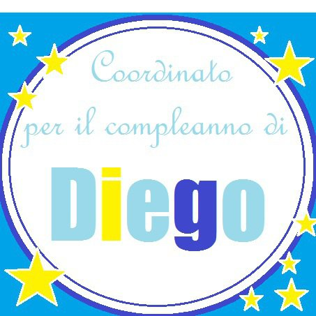 Set compleanno per Diego