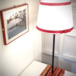 Lampada Fantasia rossa