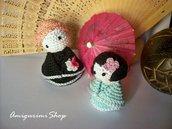 Kokeshi Dolls Pattern