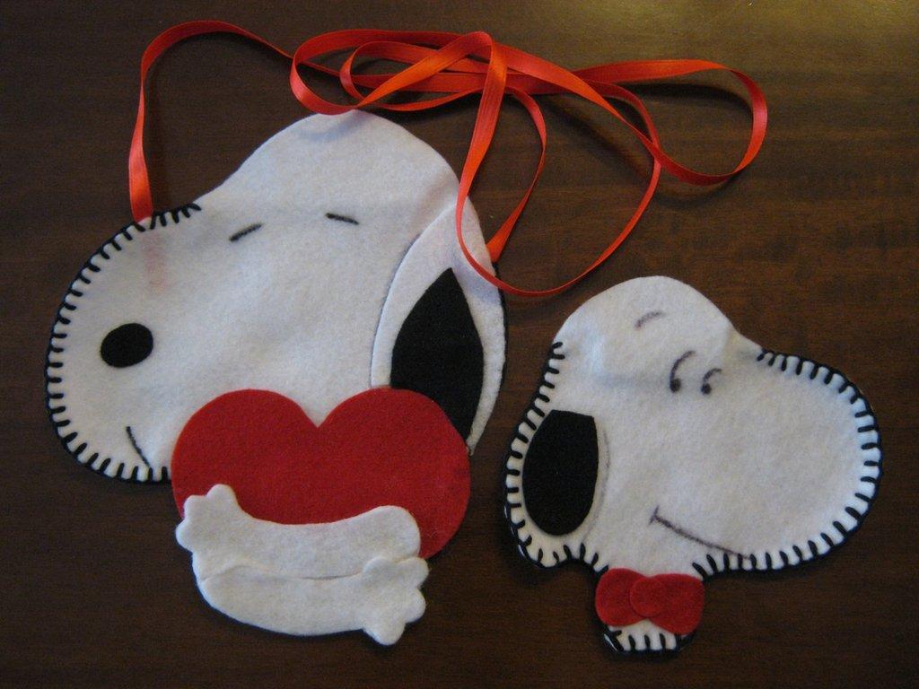 Snoopy borsina e portamonete