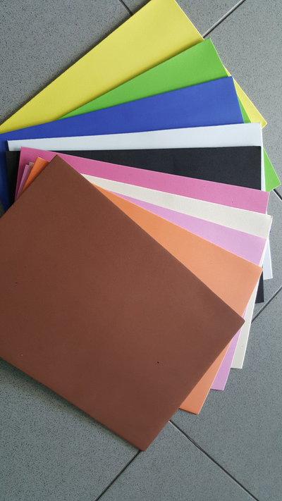 kit da 10 fogli A4 GOMMA CREPLA colori misti