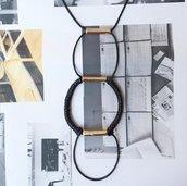 Collana Geometrica Nera