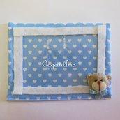 Un orsacchiotto in feltro per la cornice del vostro bambino: una dolce bomboniera per ricordare un momento speciale!