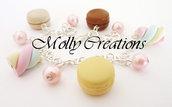 Bracciale Macarons e Marshmallows in Fimo