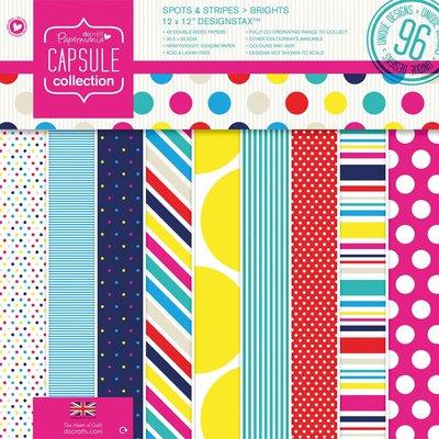 Designstax  30x30 cm - Capsule Spots & Stripes Brights