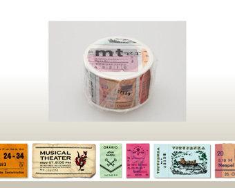 Washi Tape - Ticket