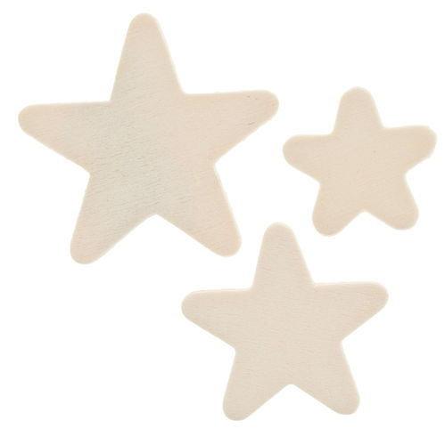 Mix 12 stelle in legno