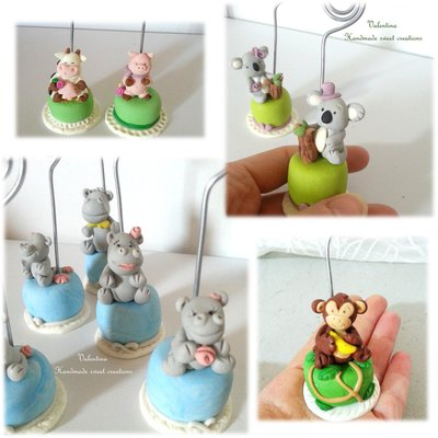 Per Cristina- segnaposto bomboniera mini cake rose animali