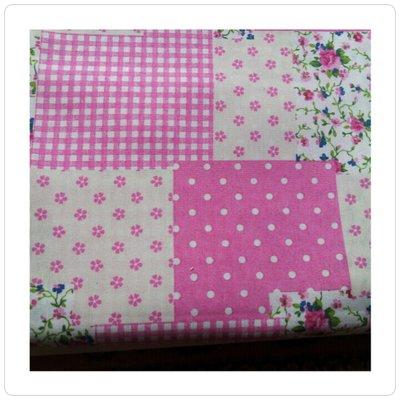 tessuto cotone rosa