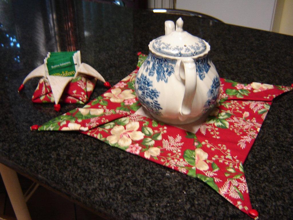 Sotto teiera origami