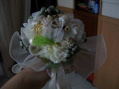 bouquet spiritoso avorio