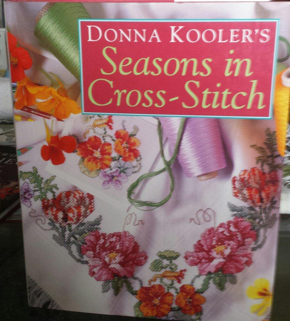 Seasons in cross- stitch