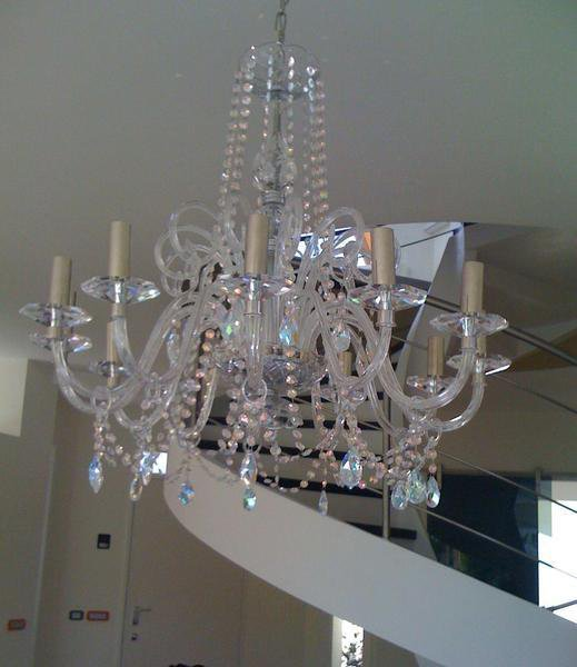 Xena  in vetro di Murano e cristalli Swarovski