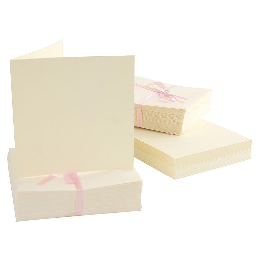 Set 100 cards - Cream