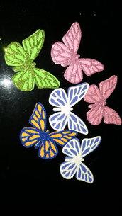 Calamita con doppia farfalla