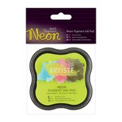 Tampone Neon Pigment Ink - Giallo