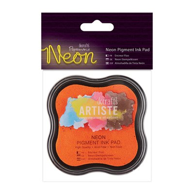 Tampone Neon Pigment Ink - Arancione