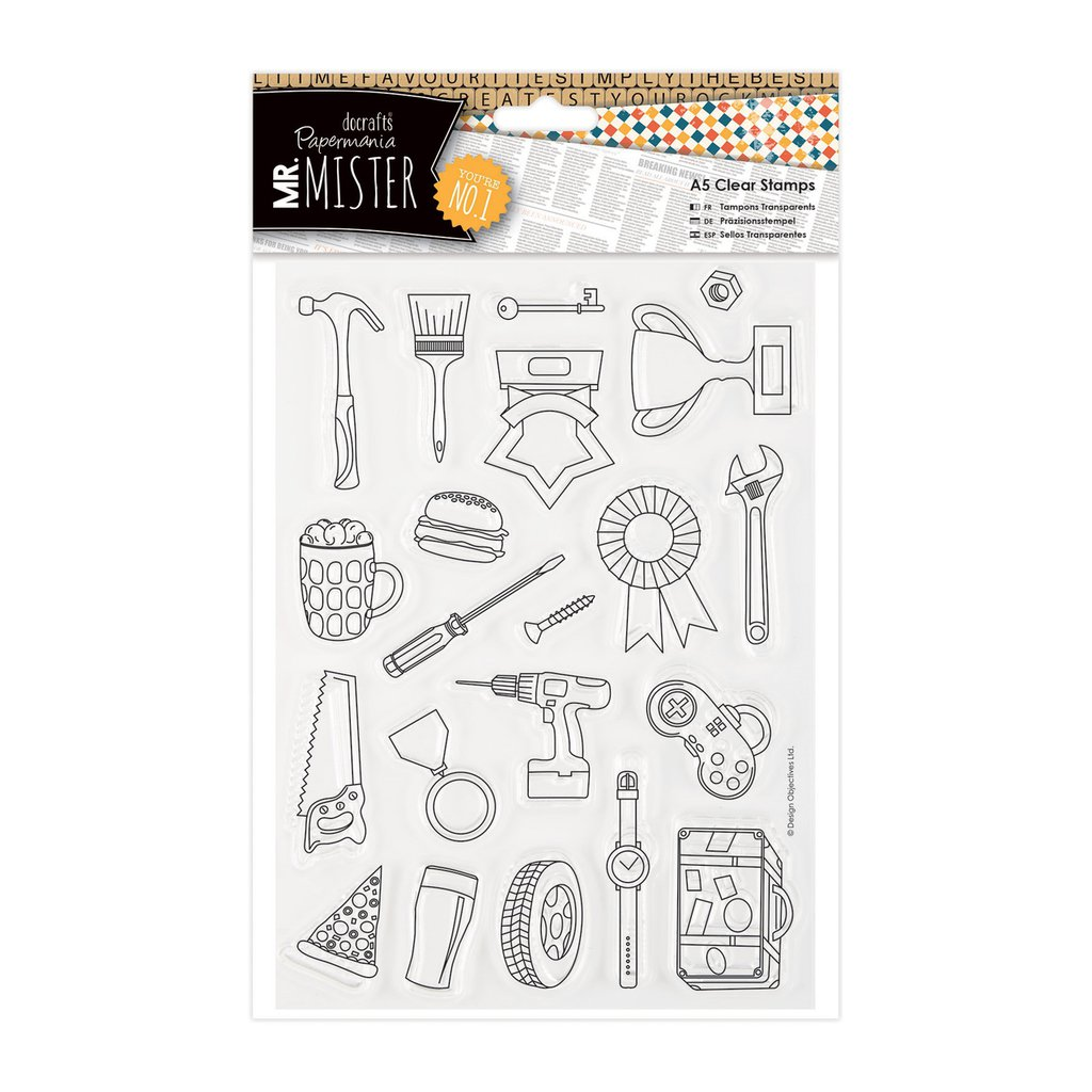 Clear Stamps - Mr Mister Icons