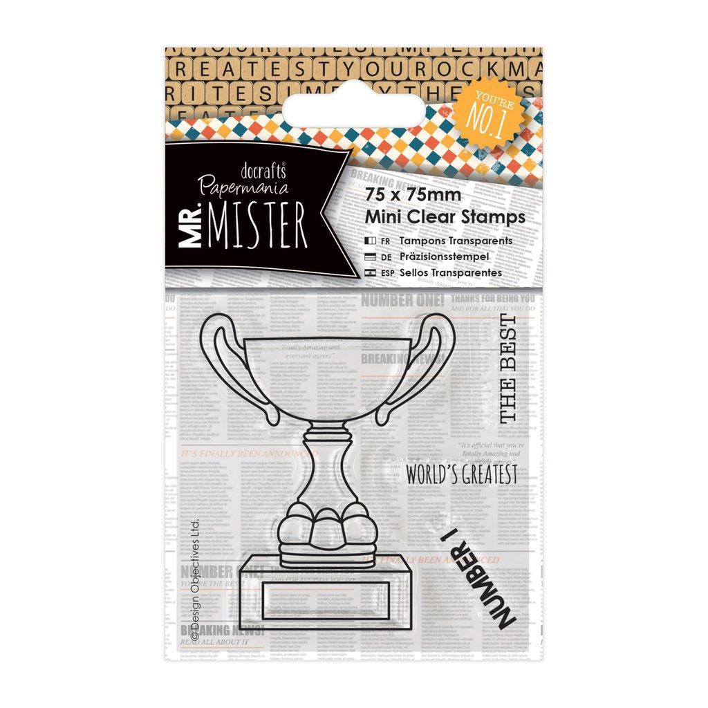 Clear Stamps - Mr Mister Trophy