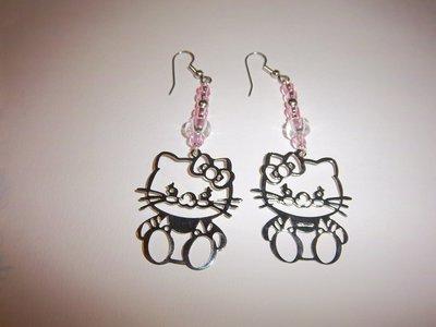 1 paio di orecchi hello kitty