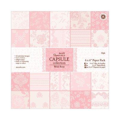 Blocco di carta 15x15 cm - Wild Rose