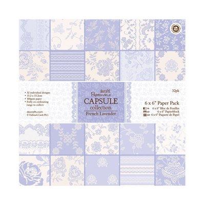 Blocco di carta 15x15 cm - French Lavender